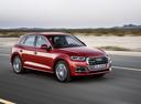 Фото авто Audi Q5 2 поколение, ракурс: 315 цвет: вишневый