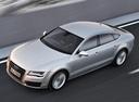 Фото авто Audi A7 4G, ракурс: сверху цвет: серый