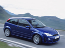 Фото авто Ford Focus 1 поколение [рестайлинг], ракурс: 270 цвет: синий