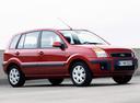 Фото авто Ford Fusion 1 поколение [рестайлинг], ракурс: 315 цвет: красный