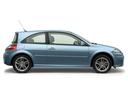 Фото авто Renault Megane 2 поколение [рестайлинг], ракурс: 270 цвет: голубой