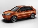 Фото авто Renault Koleos 1 поколение [рестайлинг], ракурс: 90 цвет: оранжевый