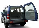 Фото авто Toyota Land Cruiser Prado J90, ракурс: багажник