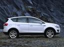 Фото авто Ford Kuga 1 поколение, ракурс: 270 цвет: белый