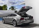 Фото авто Audi S7 4G, ракурс: 90 цвет: серый