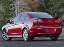 Фото авто Mitsubishi Lancer X [рестайлинг], ракурс: 135 цвет: красный