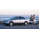 Фото авто Audi A4 B5, ракурс: 45 цвет: серебряный