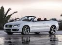 Фото авто Audi A5 8T, ракурс: 45 цвет: белый