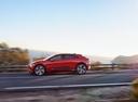 Фото авто Jaguar I-Pace 1 поколение, ракурс: 90 цвет: бордовый