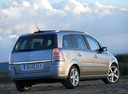Фото авто Opel Zafira B, ракурс: 225 цвет: серебряный