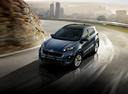 Фото авто Kia Sportage 4 поколение, ракурс: 45 цвет: синий