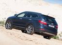 Фото авто Hyundai Santa Fe DM, ракурс: 135 цвет: синий