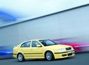 Фото авто Skoda Octavia 1 поколение [рестайлинг], ракурс: 315 цвет: желтый