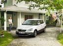 Фото авто Skoda Fabia 5J [рестайлинг], ракурс: 45 цвет: белый