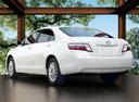 Фото авто Toyota Camry XV40, ракурс: 135 цвет: белый