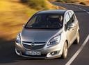 Фото авто Opel Meriva 2 поколение [рестайлинг],  цвет: серебряный