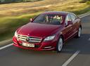 Фото авто Mercedes-Benz CLS-Класс C218/X218, ракурс: 45 цвет: красный