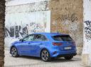 Фото авто Kia Cee'd 3 поколение, ракурс: 135 цвет: синий