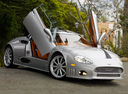 Фото авто Spyker C8 1 поколение, ракурс: 315 цвет: серебряный