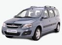 Фото авто ВАЗ (Lada) Largus 1 поколение, ракурс: 45 - рендер цвет: синий
