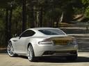 Фото авто Aston Martin DB9 1 поколение [2-й рестайлинг], ракурс: 135 цвет: бежевый