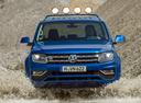 Фото авто Volkswagen Amarok 1 поколение [рестайлинг],  цвет: синий