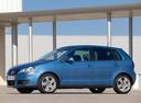 Фото авто Volkswagen Polo 4 поколение [рестайлинг], ракурс: 90 цвет: голубой