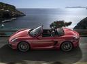 Фото авто Porsche Boxster 981, ракурс: 90 цвет: красный