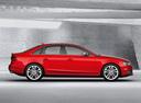 Фото авто Audi S4 B8/8K [рестайлинг], ракурс: 270 цвет: красный