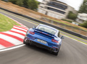 Фото авто Porsche 911 991 [рестайлинг], ракурс: 180 цвет: синий