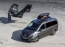 Фото авто Mercedes-Benz V-Класс W447, ракурс: 45 цвет: серый
