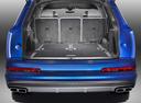 Фото авто Audi SQ7 4M, ракурс: багажник цвет: синий