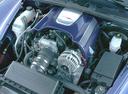 Фото авто Chevrolet SSR 1 поколение, ракурс: двигатель