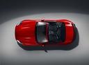Фото авто Jaguar F-Type 1 поколение [рестайлинг], ракурс: сверху цвет: красный