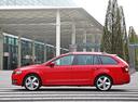 Фото авто Skoda Octavia 3 поколение, ракурс: 90 цвет: красный