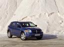 Фото авто Dodge Caliber 1 поколение, ракурс: 315 цвет: голубой