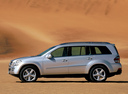 Фото авто Mercedes-Benz GL-Класс X164, ракурс: 90 цвет: серебряный