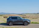 Фото авто Mazda CX-5 2 поколение, ракурс: 270 цвет: серый