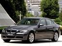 Фото авто BMW 3 серия E90/E91/E92/E93, ракурс: 45 цвет: черный