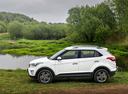 Фото авто Hyundai Creta 1 поколение, ракурс: 90 цвет: белый