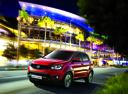 Фото авто SsangYong Actyon 2 поколение [рестайлинг], ракурс: 45 цвет: красный