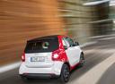 Фото авто Smart Fortwo 3 поколение, ракурс: 225 цвет: белый