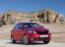 Фото авто Kia Rio 3 поколение [рестайлинг], ракурс: 315 цвет: красный