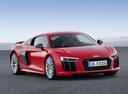 Фото авто Audi R8 2 поколение, ракурс: 315 цвет: красный