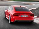 Фото авто Audi RS 7 4G [рестайлинг], ракурс: 135 цвет: красный