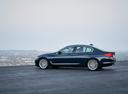 Фото авто BMW 5 серия G30, ракурс: 90 цвет: синий