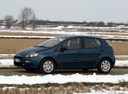 Фото авто Fiat Punto 3 поколение [2-й рестайлинг], ракурс: 45 цвет: синий