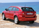 Фото авто Dodge Caliber 1 поколение, ракурс: 135 цвет: красный