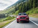 Фото авто Jaguar F-Pace 1 поколение,  цвет: красный