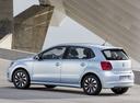 Фото авто Volkswagen Polo 5 поколение [рестайлинг], ракурс: 90 цвет: серебряный